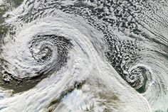 - Photograph by NASA/Jesse Allen - Nature's Fury: 30 Chilling Photos of Natural Hazards Natural Phenomena, Natural Disasters, All Nature, Science Nature, Mother Earth, Mother Nature, Van Gogh, Supercell Thunderstorm, Spirals In Nature