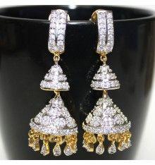 American Diamond Earrings - A4-A5