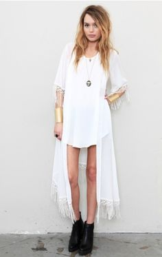 For Love and Lemons. Not too sure as to what I would wear this with, but this is beautiful!!