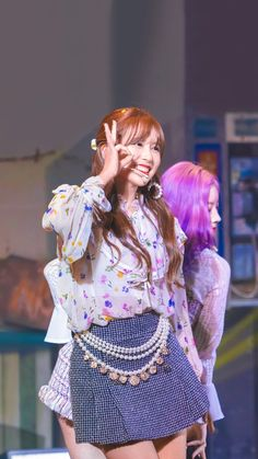 Nayeon, Myoui Mina, Twice Kpop, Japanese American, Fandom, Stage Outfits, Pink Aesthetic, Harajuku, Aurora Sleeping Beauty