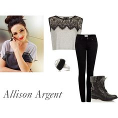 """""""Teen Wolf-Allison Argent"""" by kristynk on Polyvore"""