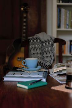 morning coffee + Cohen | Lisa Hjalt