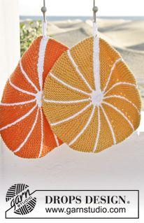 """Presina DROPS ai ferri, con fetta di limone o arancia, in """"Paris"""". ~ DROPS Design"""
