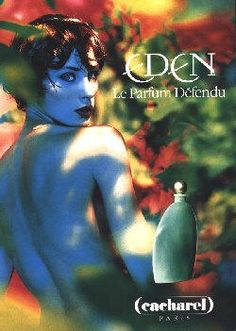 Eden by Cacharel with Olga Pantushenkova (1996).