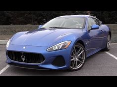 2018 Maserati GranTurismo: Review - YouTube Current Generation, Maserati Granturismo, Game Engine, Programming Languages, Driving Test, Grandparent, Computer Science, Car, Software
