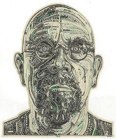 Money Art of Mark Wagner