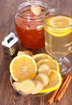 Ginger lemon honey tea for weight loss. Ingredients: 4-5 liters of water, 1 lemon, slice ginger root, half beam mint, cinnamon stick, star anise, 5-6 cloves, 2 tablespoon green tea.