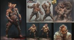 the last of us infected concept art - Google Search