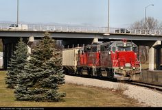 RailPictures.Net Photo: CORP 3838 Central Oregon & Pacific Railroad EMD GP38AC at Bay City , Michigan by Steve Davey
