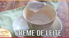 COMO FAZER CREME DE LEITE DE COCO | LOW CARB | #FevereiroTodoDia