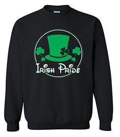 Blue Lagoon Adult Unisex Men s Women s Funny Irish Pride ST. Saint  Patrick s Day Crewneck  2c47027f2