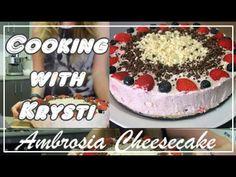 Dessert Recipe   Ambrosia Cheesecake