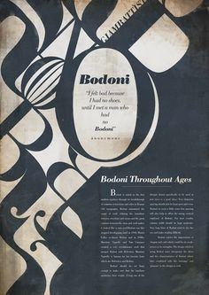 Design Fixation: {Typeface Tuesday} Bodoni