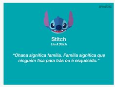 Família Lilo Stitch, Lilo And Stitch Memes, Disney Movie Quotes, Disney Movies, Disney Pixar, Walt Disney, Character Quotes, Frases Humor, Dreamworks