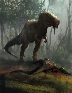 Tyrannosaurus; Late Cretaceous (67 - 66 Ma); Theropod; Discovered by Barnum Brown, 1900-1902; Described by Osborn, 1905