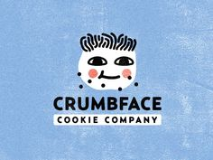 Crumbface Cookie Company designed by Binh Cao. Connect with them on Dribbble; Kids Packaging, Cookie Packaging, Packaging Design, Graphic Design Branding, Typography Design, Logo Design, Cookies Branding, Photoshop Logo, Cookie Company