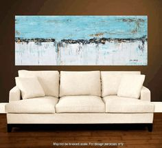 """Enormous 72""""xxl large abstract painting original palette knife painting free…"""