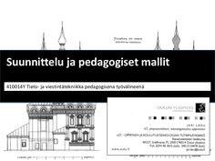 tieto- ja viestintätekniikka pedagogisena työvälineenä by Jari  Laru via Slideshare