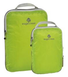 Wherever you're traveling to this holiday season, the ultra lightweight Pack-It Specter Cube Set by Eagle Creek lets you bring more, no matter how big or small your bag may be. This set of three packing cubes weighs less than 2.2 oz and is made of the same stain and water-resistant fabric as lightweight backpacks and tents. shop. $38. From: 13 Travel Products You'll Need this Winter #travel #holidays #stockingstuffers #presents #giftideas #gifts www.budgettravel.com
