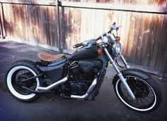 Gallery for Honda Shadow 750 ACE Bobber - image Honda Shadow Bobber, Honda Bobber, Bobber Bikes, Vintage Motorcycles, Custom Motorcycles, Custom Bikes, Harley Davidson Scrambler, Bobber Motorcycle, Motorcycle Paint