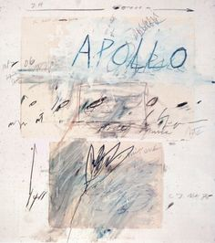 art-documents:    Cy Twombly / Apollo and Artist, 1975