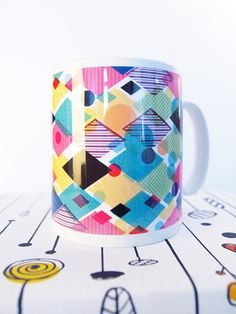 Sublimation Ceramic Mug by Dye Sublimation Ink-Full Color Paper Industrial Co. Sublimation Mugs, T Shirt Transfers, Transfer Paper, Gift For Lover, Unique Gifts, Industrial, Ink, Ceramics, Color
