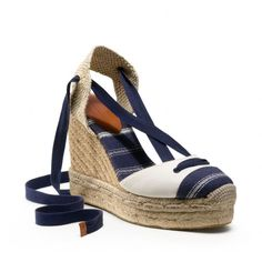 Espadrilles are always comfortable and elegant with everything from jeans to linen dresses.