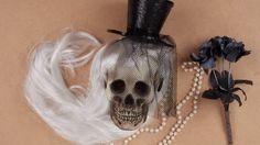 DIY Halloween Crâne customisé