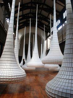 John Grade installation.