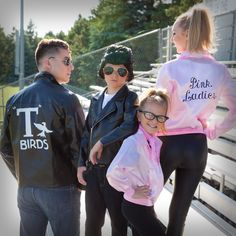 This Halloween, your family can be a group of T-Birds and Pink Ladies! Grease Halloween costumes never go out of style.