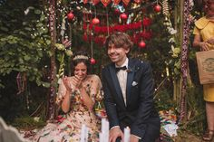 La boda de Puyan y Paul en la campiña francesa. ¡Descubre más en Petit Pleasures!