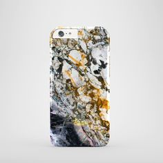"""""""Abandon""""  / feature with Gorgeous vibrant color marble stone printed iPhone cover. #marble #case #paletto"""