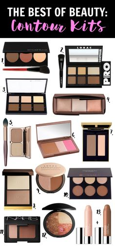 Finally, a roundup of the BEST contour kits! From NARS to Urban Decay, this…