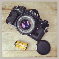 Canon A-1 kodak 200