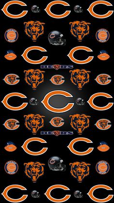 Check out all our Chicago Bears merchandise! Chicago Bears Gear, Chicago Blackhawks, Chicago Cubs Wallpaper, Chicago Bears Pictures, Bronco Sports, Nfl Sports, Sports Teams, Bears Football, Sports Wallpapers