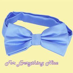Sky Baby Blue Formal Groomsmen Groom Wedding Mens Neck Bow Tie