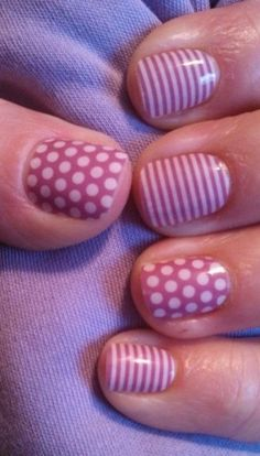 """Try BEAUTIFUL Jamberry Nail Wraps!!! """"Orchid Polka & Orchid Skinny""""  chicmedic.jamberrynails.net"""