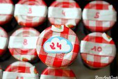 Bonne Maman jars Advent Calendar