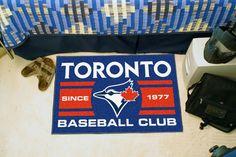 Toronto Blue Jays Baseball Club Starter Rug 19x30