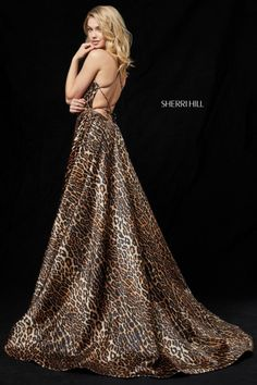 e3fb5bc462 95 Best Animal Print Prom Dresses images
