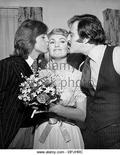 July 12, 2006 - SHIRLEY JONES WITH SHAUN CASSIDY AND MARTY INGELS .A2683. NATE CUTLER-(Credit Image: © Globe Photos/ZUMAPRESS.com) - Stock Image
