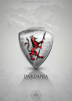 Dardanian Coat of Arms #illyrian #dardanian #albanian #kosovo