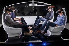 Mercedes-Benz autonomous Concept Car Interior - TecDay Autonomous Mobility Sunnyvale 2014