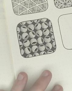 Easy geometric pattern inspiration for zentangle art | More on how to draw geometric patterns and easy doodle tutorials on my IG (mariomartinart) | #doodleart #patternart #zendoodle #zenart #zentangle #bujo #satisfyingvideos #artprocess #speeddrawing Easy Zentangle Patterns, Zen Doodle Patterns, Doodle Borders, Geometric Patterns, Easy Doodle Art, Doodle Art Drawing, Doodle Inspiration, Art Journal Inspiration, Easy Mandala Drawing