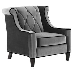 Barrister Tufted Arm Chair
