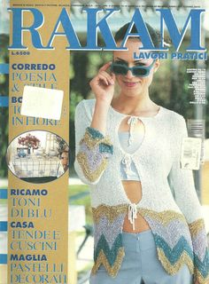 RAKAM №6 2000-embroidery and knitting