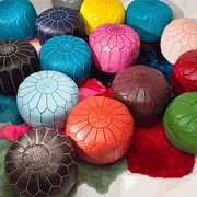 Moroccan Poufs * Over 50 Colors Available * Click Full Listing To Order Required Color
