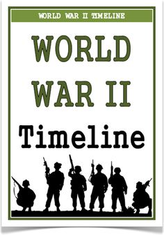 World War Two Timeline - Treetop Displays - A set of 35 A4 posters showing a timeline of World War Two. Posters show the key events that took place during the time. A visual and informative set that will prove to be an excellent aid for children learning about this topic! Visit our website for more information and for other printable resources by clicking on the provided links. Designed by teachers for Early Years (EYFS), Key Stage 1 (KS1) and Key Stage 2 (KS2).