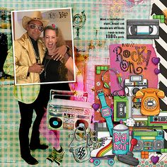 2016 Rock On Nicole & Angel  1980s Party by Iowan using digital scrapbooking products from the Lilypad