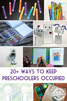 Restaurants and kids don't always mix, but with these awesome ways to keep preschoolers occupied you'll be wanting to eat out regularly!  Dining out can be so nice (No cooking! No dishes!) but with a preschooler in tow it can also be difficult (Sit still!  Don't Spill!).  Here on Kids Activities Blog we've gathered over twenty creative …